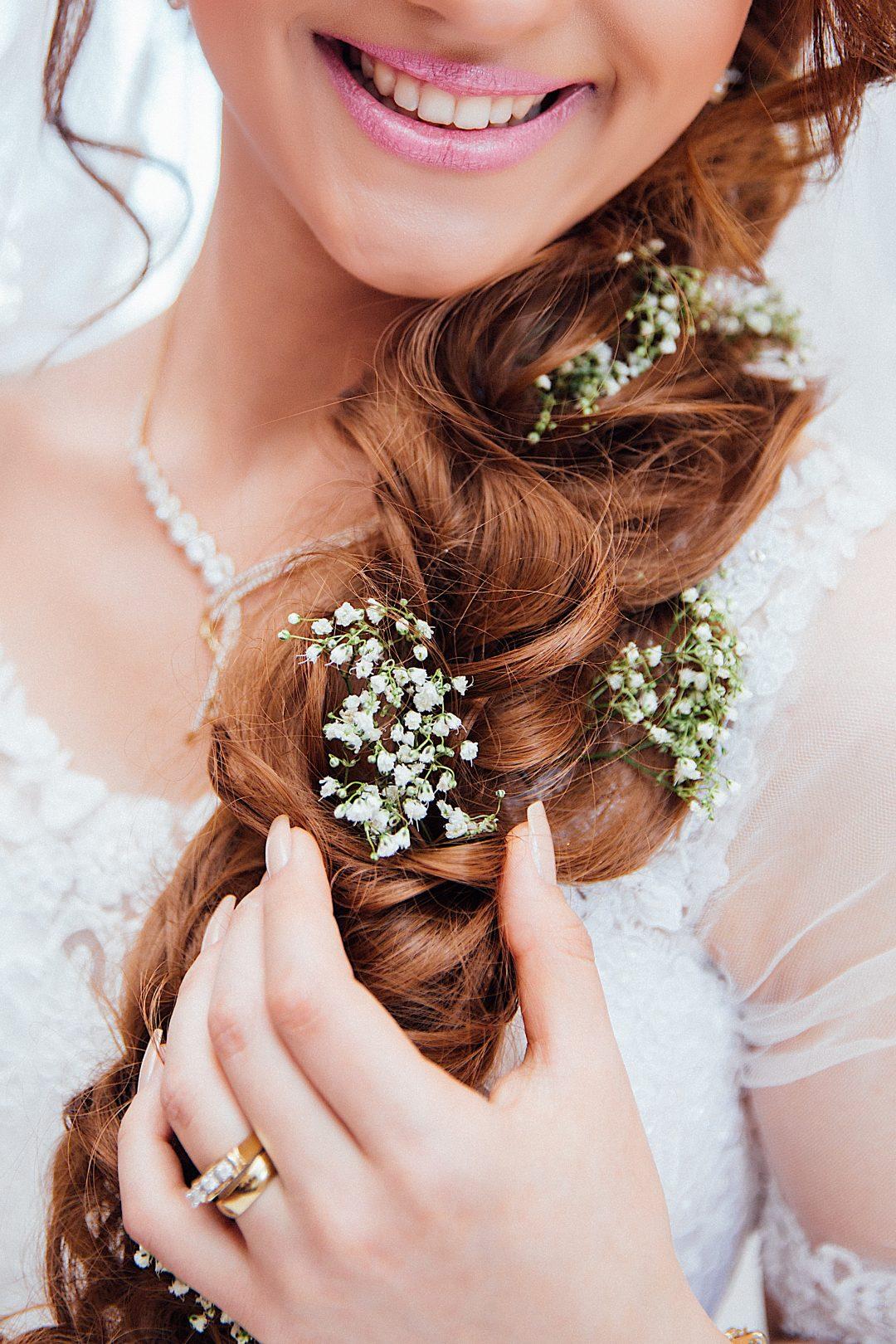 La mariée et sa loge