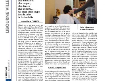Article Resistant 2 mai 2011